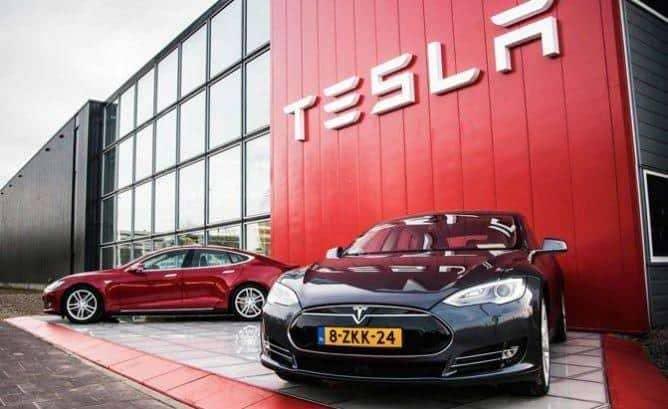 Рост стоимости акций Tesla на биржевом рынке