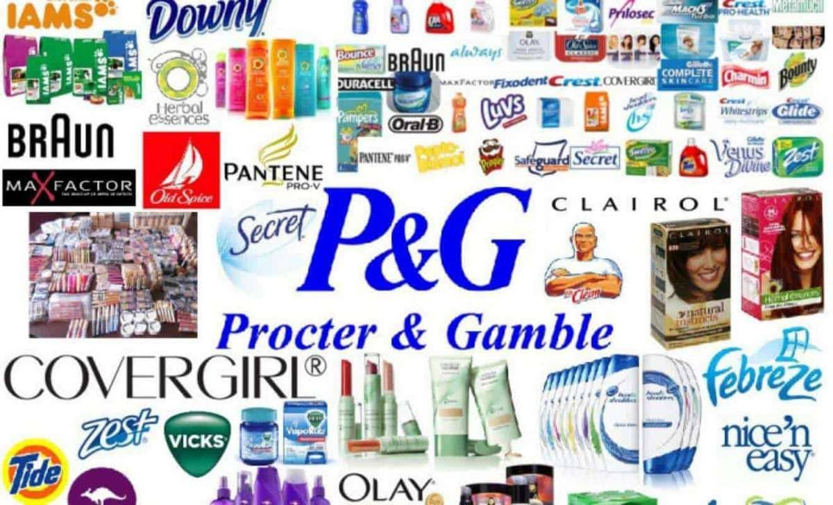 Компания со 170-летним опытом: Procter & Gamble