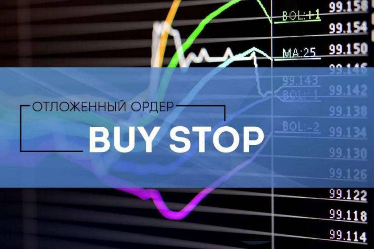 Работа с отложенным ордером Buy Stop
