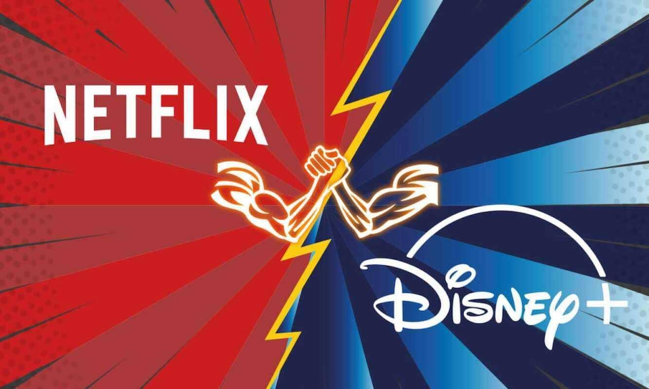О компаниях Netflix и Disney+
